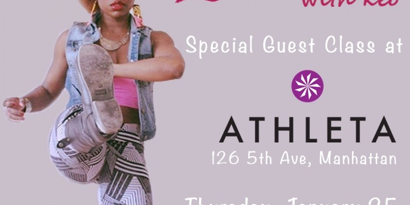 abunDANCEwithkeo Special Guest Class at Athleta Flatiron!