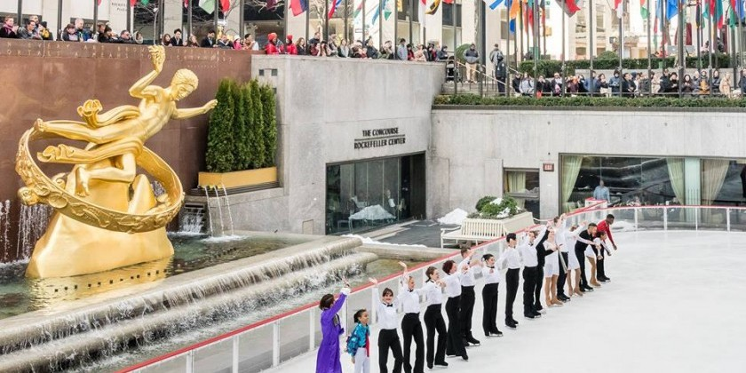 Ice Theatre of New York (ITNY) presents annual City Skate Concert Series.