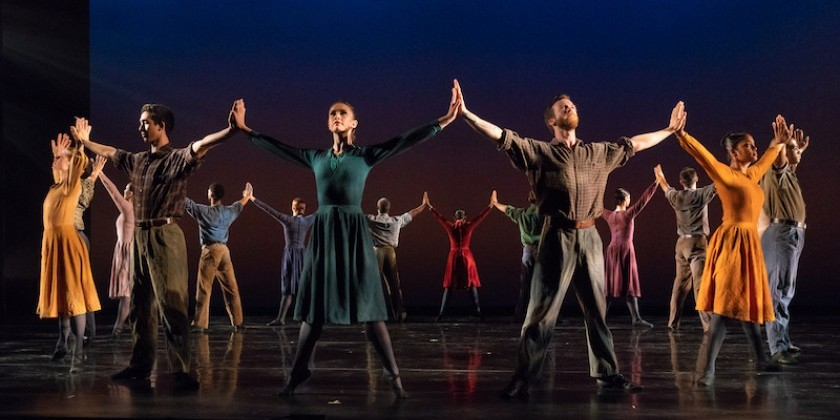 IMPRESSIONS:  Limón Dance Company with works by Adam Barruch, Colin Connor, Rosie Herrera, José Limón, and Yin Yue at The Joyce Theater