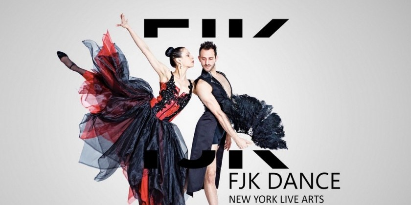 "FADI KHOURY'S ""FJK DANCE"" RETURNS TO NEW YORK LIVE ARTS"
