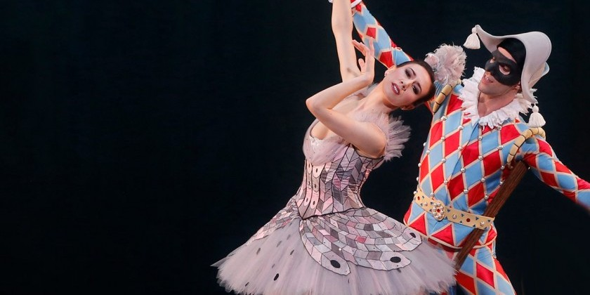 "WASHINGTON DC: American Ballet Theatre presents ""Harlequinade"" at The Kennedy Center"