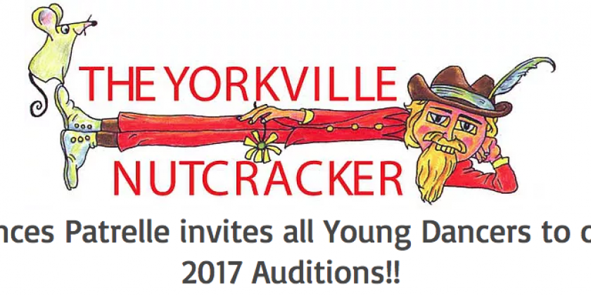 "Dances Patrelle Announces Student Auditions for ""The Yorkville Nutcracker"""