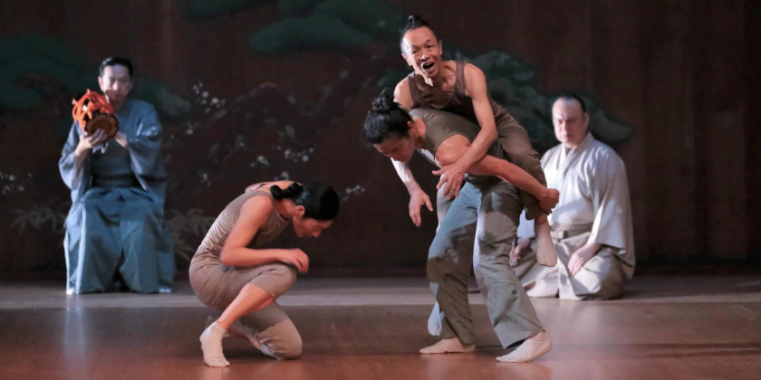 "TDE Asks Luca Veggetti About ""Left-Right-Left,"" A Contemporary Dance Set To Japanese Noh Music"