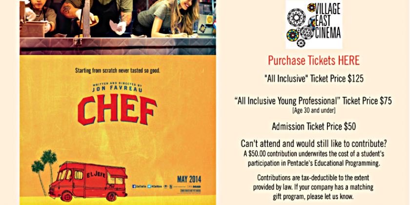 "It's Not Too Late to Get Your Tickets - ""Chef"" Just Won Tribeca Film Fest Audience Award!‏"
