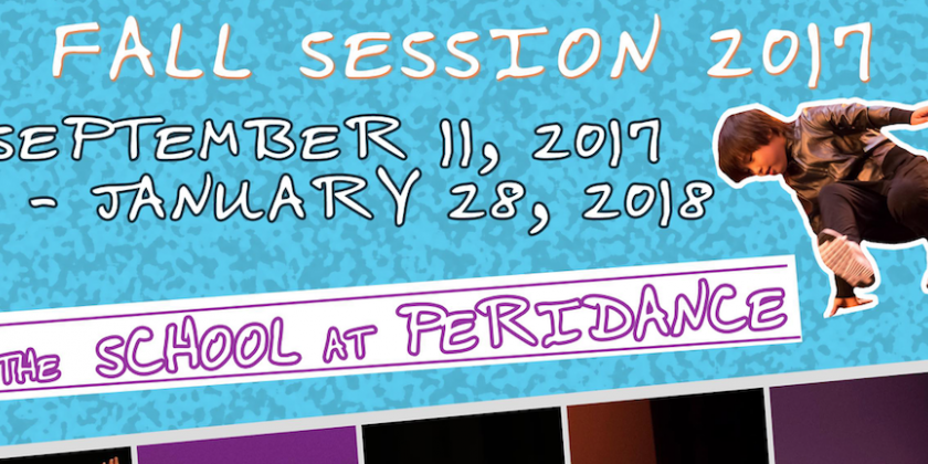 Fall Session Programs at the School at Peridance