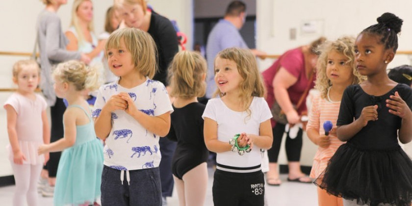 PHILADELPHIA, PA: Preschool Dance Class (New!!) at The Rock School for Dance Education