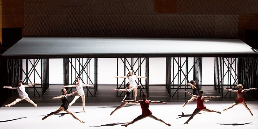 """Available Light"" by the Lucinda Childs Dance Company debuts at Mostly Mozart Festival"