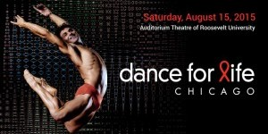 TDE Asks Chicago's David Shultz (Hubbard Street Dance) and Joshua Blake Carter (Giordano Dance Chicago) about DANCE FOR LIFE