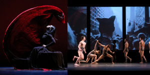 DANCING WITH HISTORY IN SPACETIME: Martha Graham Dance Company at The Joyce Theater and Stephen Petronio Company at Skirball Center