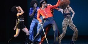 "Impressions of: ""James Brown: Get on The Good Foot, A Celebration in Dance"" at The Apollo Theater"