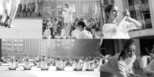 THE  TABLE  OF  SILENCE  PROJECT 9/11 - 100+ DANCERS COMMEMORATE PEACE FOR A FOURTH YEAR