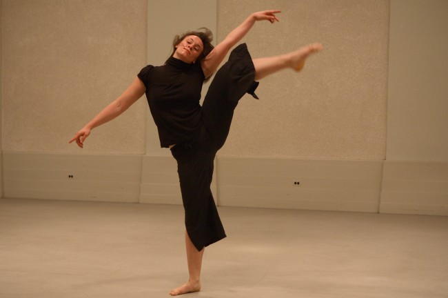 Liza Riga dances the element EARTH