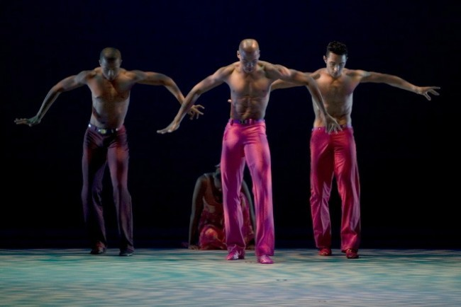 Dancers of AAADT in an excerpt from PHASES (1980)- A work Choreographed by Alvin Ailey and Restaged by Masazumi Chaya.