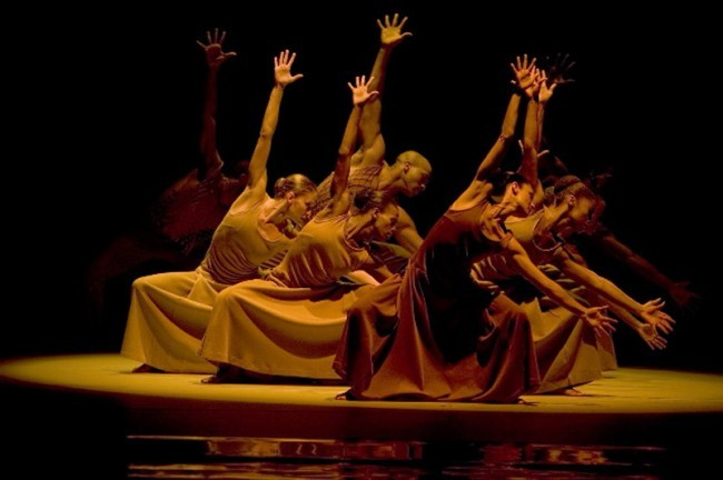 The Opening of REVELATIONS (1960), Choreography by Alvin Ailey, Music: Traditional Spiritual