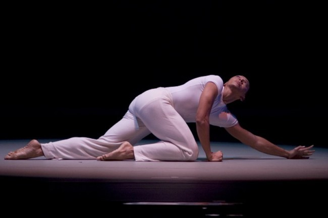 AAADT Dancer Clifton Brown in the  I Wanna Be Ready section of REVELATIONS.