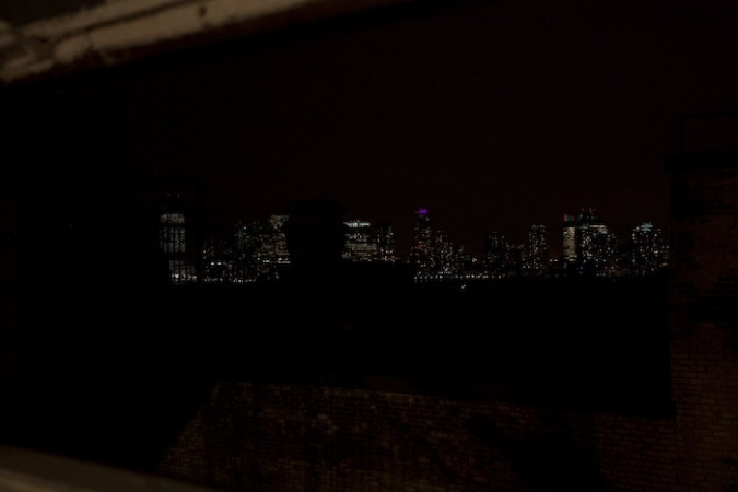 A City View from The Merce Cunningham Studios in NYC