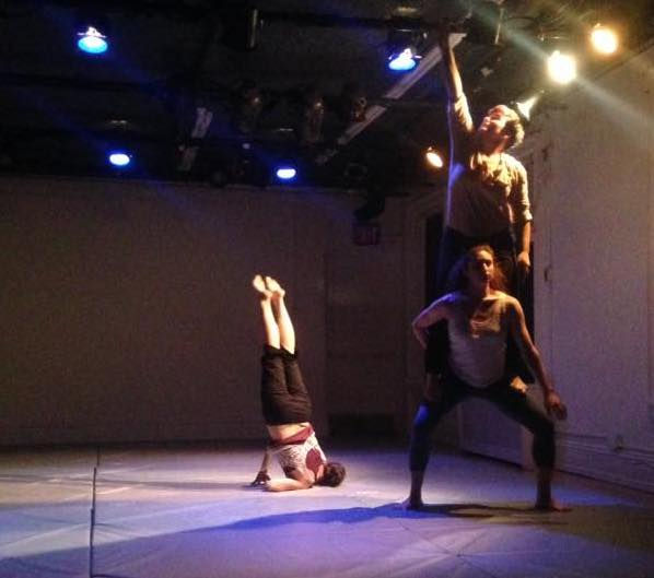 Sept 22 CollabFest Artist Gravity Dance; Photo: Diane Tomasi