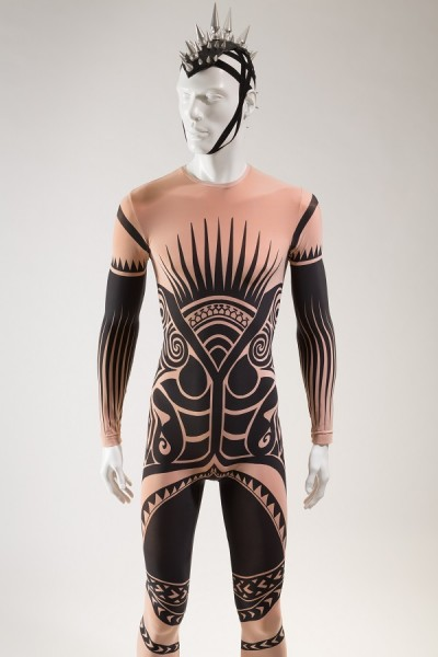 Stella McCartney, man's tattoo costume for Ocean's Kingdom, Fall 2011, lent by New York City Ballet. Photograph © The Museum at FIT.