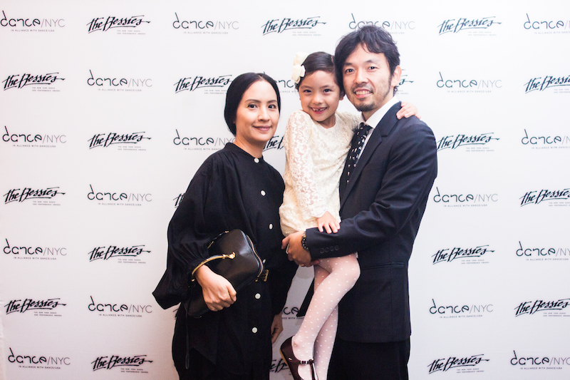 Kazunori Kumagai and family. Photo: AK47 Division