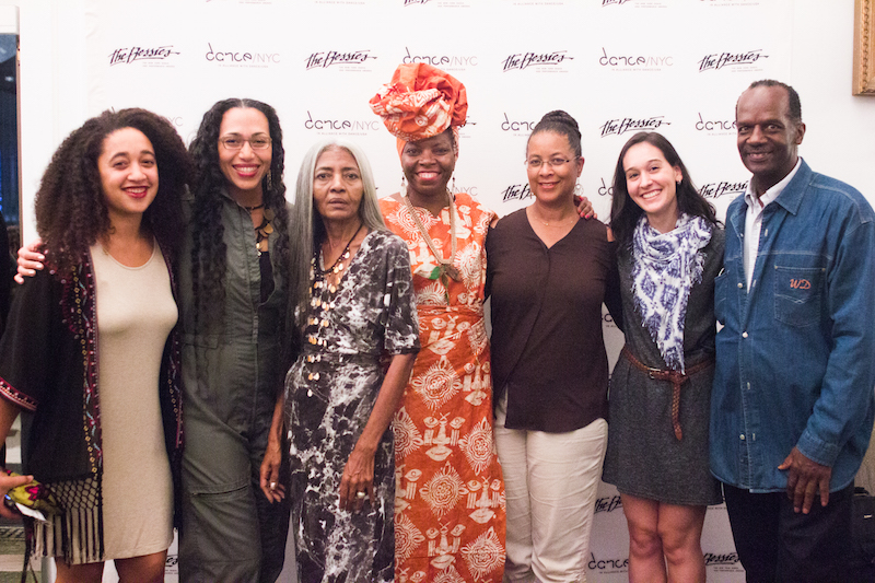 Joya Powell and guests. Photo: AK47 Division