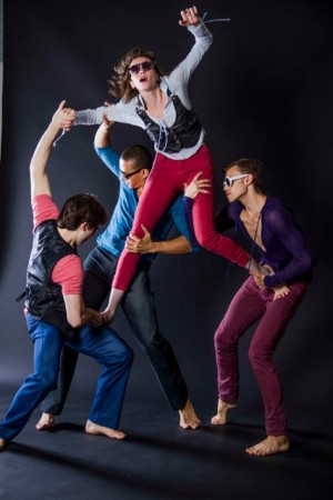 "Studio Shot of ""Let' Pretend We're All Wearing Sunglasses,""     ;Choreography Brian Carey Chung; Photo Courtesy of Mr. Chung"