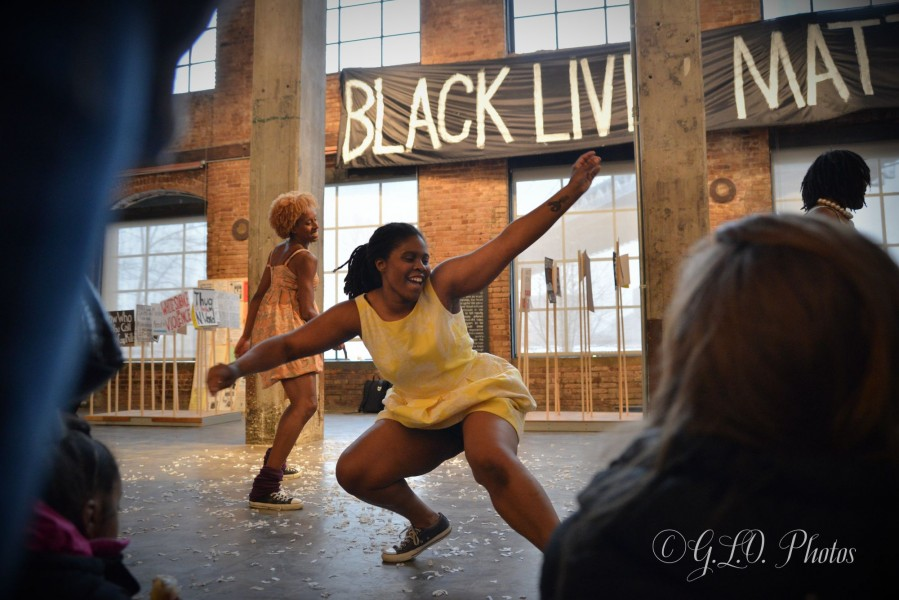 Sept 21 CollabFest Curated Artists Sydnie L. Mosley Dances; Photo: Oron Bell