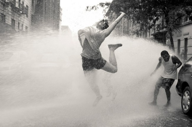 Eran Bugge- The Paul Taylor Dance Company -Hydrant Dancing In NY