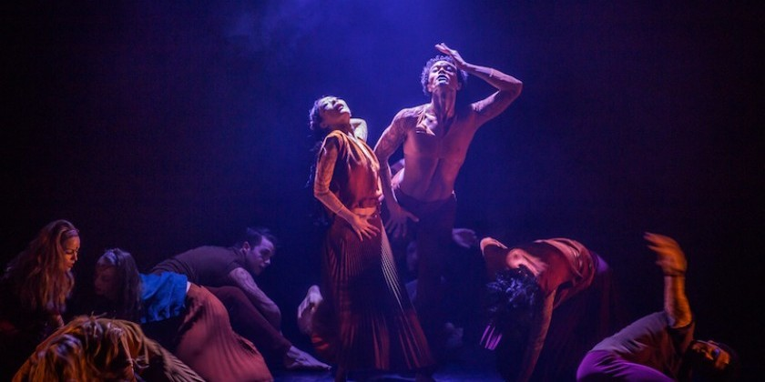 "Martha Graham Dance Company at The Joyce Theater in ""Sacred/Profane"" with Premieres by Annie-B Parson and Sidi Larbi Cherkaoui"