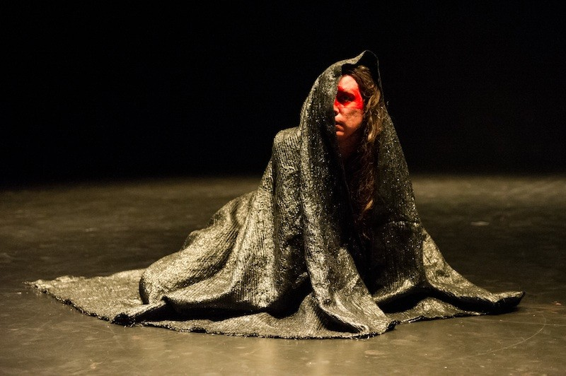 Luciana Achugar in Otro Teatro. Photo: Ian Douglas.