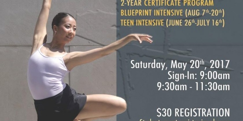 Final Auditions for Peridance's Training Programs!