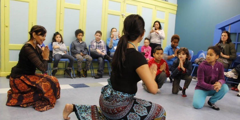 "The Children's Museum of Manhattan's  First ""Dance Your Way Through December"" Festival"