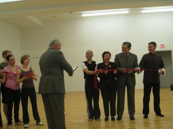 The Ribbon Cut, Chi Movement Arts Center is Officially Open