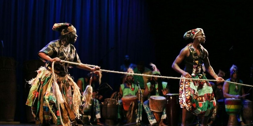 ASASE YAA African American Dance Theater presents DRUM LOVE