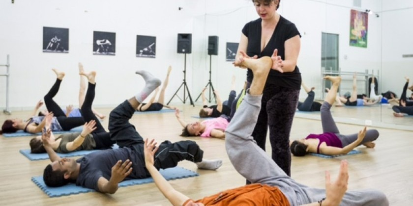 Barre a Terre Workshop with Anabella Lenzu/DanceDrama