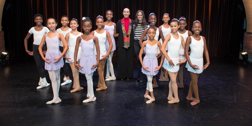 The Dance Enthusiast Hits the Streets: Misty Copeland & Carmen de Lavallade Teach  Ballet Class at Harlem Stage
