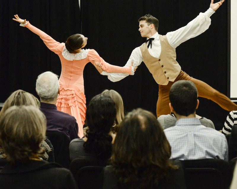 "MGDC's ""Appalachian Spring"" with Mariya Dashkina Maddux and  Lloyd Mayor"