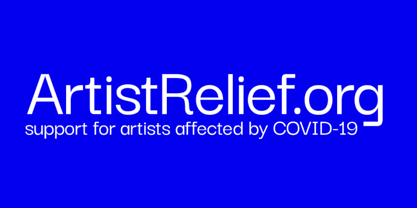 NEW RELIEF FOR ARTISTS!!! Moira Brennan of the MAP Fund on the Coalition of Arts Funders Launching ARTIST RELIEF an Emergency Relief Fund for Artists Affected by COVID-19