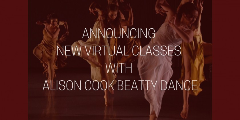 Alison Cook Beatty Dance Repertory Class with Carolina Rivera