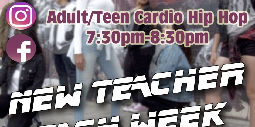 SAN DIEGO, CA: Beginning Hip Hop for Adults at The Dancehouse