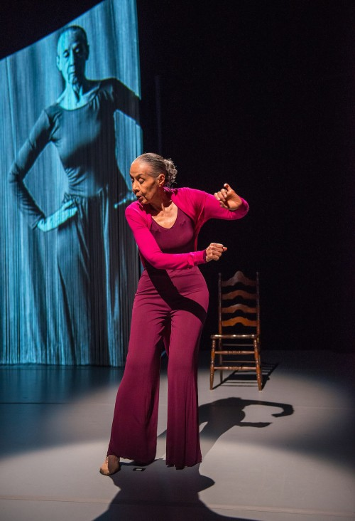 Carmen de Lavallade in As I Remember It. Photo by Stephanie Berger