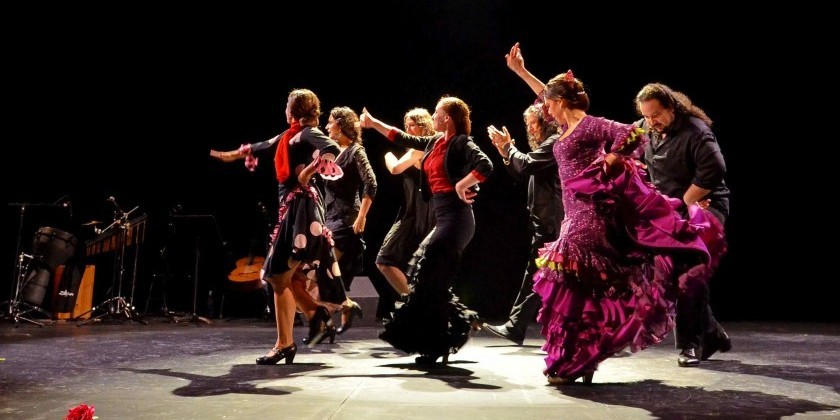 Between the Seas Presents: Nosotras Somos (Rebeca Tomas/A Palo Seco Flamenco)