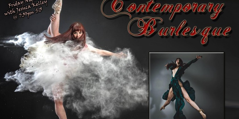 SAN DIEGO, CA: Contemporary Burlesque with Jessica at The Dancehouse