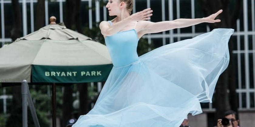 Bryant Park Picnic Performances: Contemporary Dance