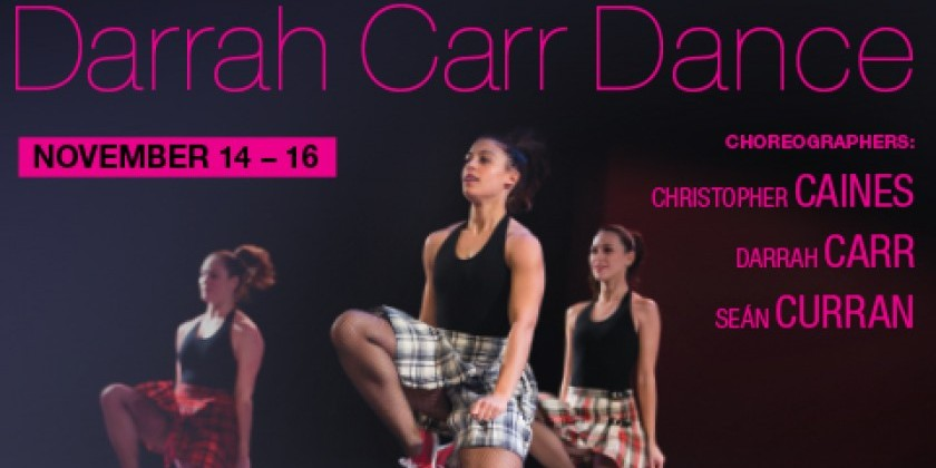 ModERIN: Darrah Carr Dance with Choreographers: Christopher Caines & Seán Curran