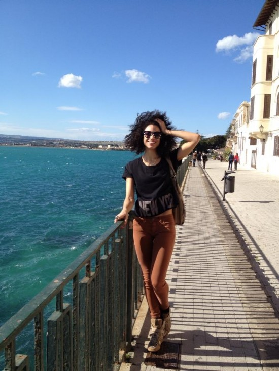 Natasha Diamond-Walker on tour in Sicily