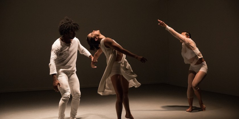 "Impressions of Gina Gibney's  ""Folding In"" at Gibney Dance Agnes Varis Performing Arts Center"