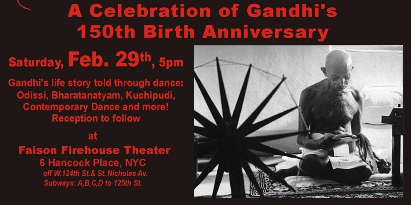 A Celebration of Gandhi's 150th Birth Anniversary