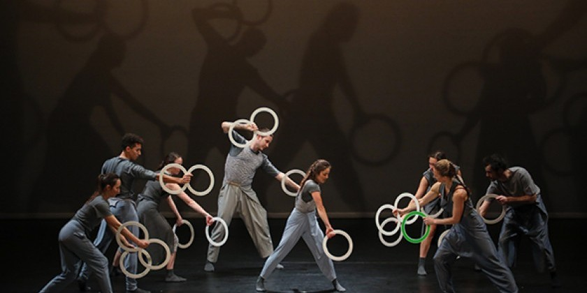 """Spring"" is Fluid yet Precise, Grey yet Full of Colour: A Collaboration between Gandini Juggling & Alexander Whitley Company"