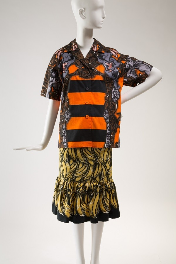Prada, ensemble, Spring 2011, lent by Prada. Photograph © The Museum at FIT.