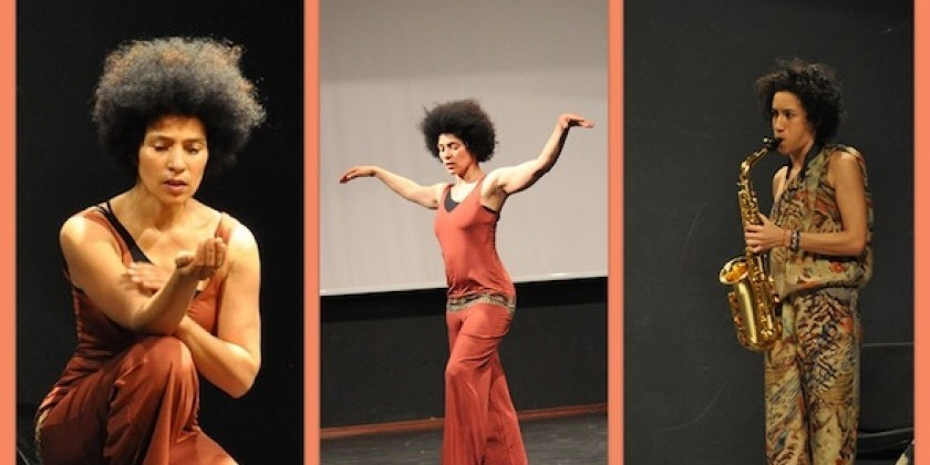 "Oxana Chi presents ""I Step On Air"" at Dixon Place"